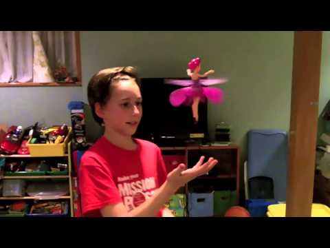Flutterbye Fairies From Spin Master Review.  A Fairy That Floats Over Your Hand???