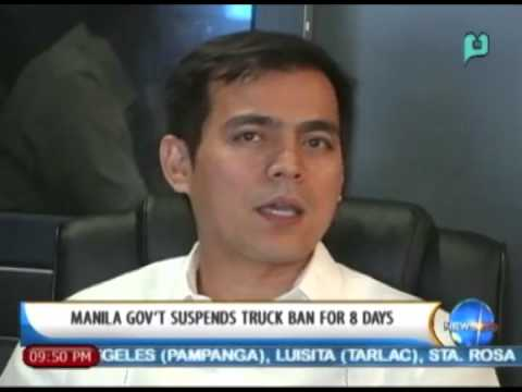 NewsLife: Manila gov't suspends truck ban for 8 days || May 12, 2014