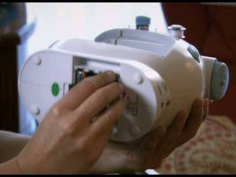Maquina coser portátil