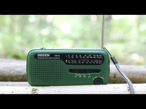 Degen DE13 Survival and Emergency Radio