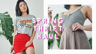 Spring Thrift & Vintage Try-On Haul