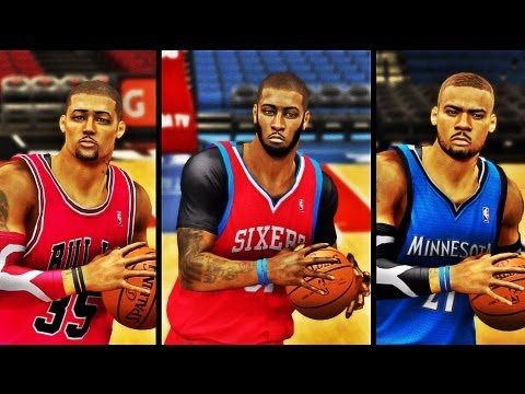 NBA 2K13 MyCAREER: Download DeShawn Harris, Andre Johnson, & Jay Harris For 360 & PS3 NOW!!