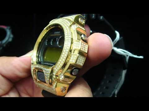 Mr Chris Da Jeweler Real Diamond Casio Gshock Watch