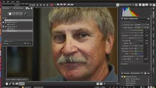 Simple Portrait Enhancement tutorial using AfterShot Pro / Bibble5