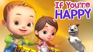 If You Are Happy  And You Know | Baby Ronnie Rhymes | Videogyan 3D Rhymes | Kids Songs