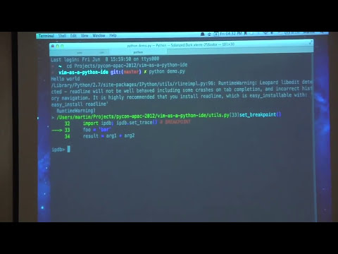 Vim as a Python IDE - Martin Brochhaus
