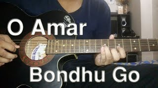 o amar bondhu go | Guitar Tab by Arif | ae mere humsafar guitar tutorial by Arif | Full HD