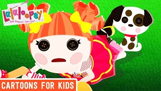 Lalaloopsy - Don't Let Go | Lalaloopsy Webisode Compilation | Cartoons for Kids
