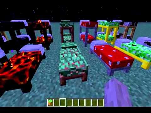 Minecraft Mod Spotlight More Beds Mod Youtube