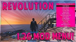 "GTA 5 Online | ""Revolution"" 1.26 Mod Menu RGH/JTAG Showcase w/ DL! (GTA V 1.26 Mod Menu Gameplay)"