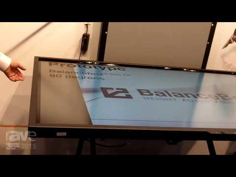 ISE 2015: BalanceBox Introduces Prototype of BalanceBox 650 with Tilt Function