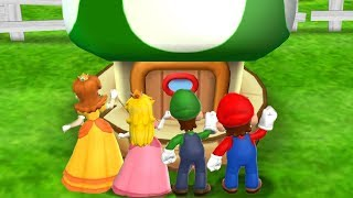 Mario Party 9 - Toad and Go Seek & Minigames Step It Up (Daisy Gameplay)| Cartoons Mee