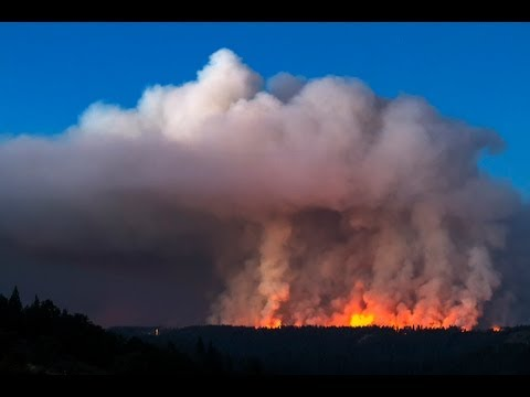 Wildfire 2013, Foresthill California,