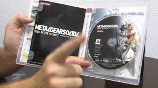 Распаковка Metal Gear Solid V: The Phantom Pain Special Edition
