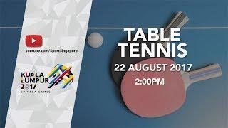 Table Tennis Women's Singles Final | 29th SEA Games 2017