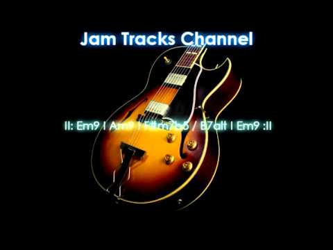 Smooth Jazz Guitar Backing Track (Em)