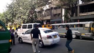 Sapakan Taxi Driver vs Van Driver