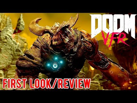 DOOM VFR FIRST LOOK & REVIEW - HTC VIVE | DOOM VR Gameplay