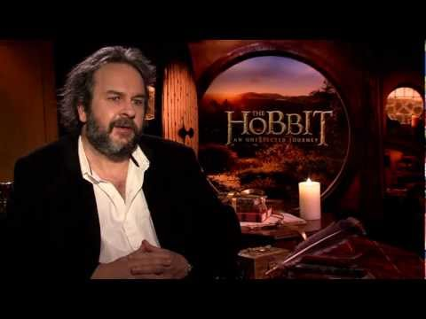 Peter Jackson Interview -- THE HOBBIT