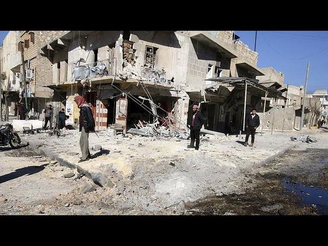 La operación militar contra Alepo provoca un nuevo éxodo de refugiados a la frontera con Turquía