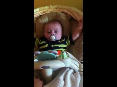 Jackson's 1st Documented Infantile Spasm Episode