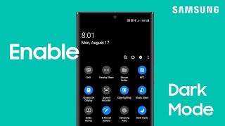 Enable Dark mode to use your Galaxy phone at night | Samsung US