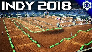 Monster Energy Supercross - 2018 Indianapolis SX Gameplay