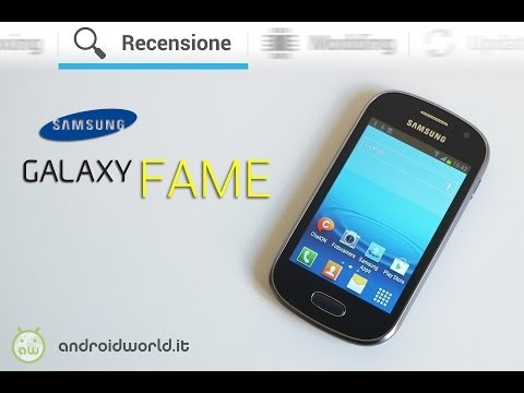 Samsung Galaxy Fame. recensione in italiano by AndroidWorld.it