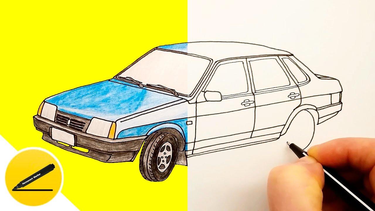 Как нарисовать ваз своими руками