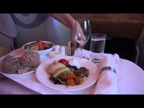 Emirates Business Class A380 Milan NYC Milan