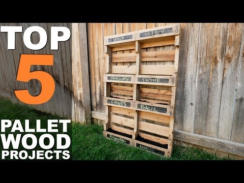 5 TOP PALLET WOOD PROJECTS