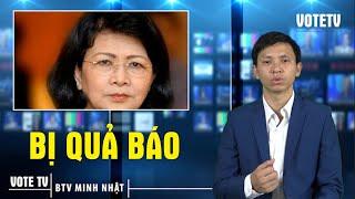"""TIN NỬA ĐÊM: Phó chủ tịch nước Đặng Thị Ngọc Thịnh bị """"THÍ TỐT"""" #VoteTv"""