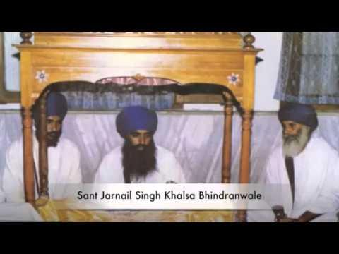 Sant Baba Jarnail Singh Ji khalsa Bhindranwale - Mahakaal kalka...
