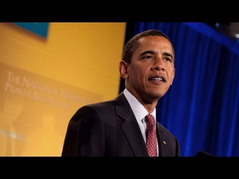 President Obama at the 2009 Hispanic Prayer Breakfast