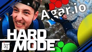 AGAR.IO IN BUMPER-BALLEN met Jeremy en Joost | HARD MODE | LOG