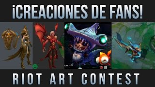 Creaciones de Fans #1 - Riot Art Contest | League of Legends