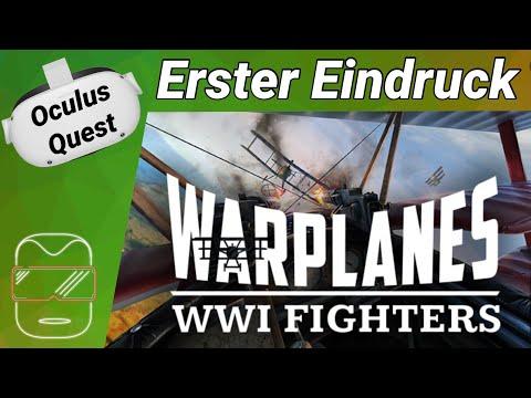 Oculus Quest 2 [deutsch] Warplanes VR: Erster Eindruck | Oculus Quest 2 Games deutsch VR Games 2021