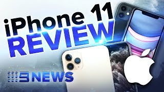 Hands-on test. See how the iPhone 11 and 11 Pro perform | Nine News Australia