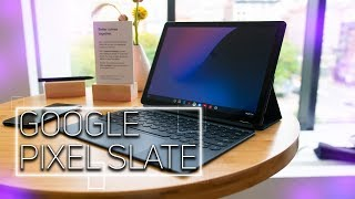 Google Pixel Slate Hands On: An iPad Pro Competitor?
