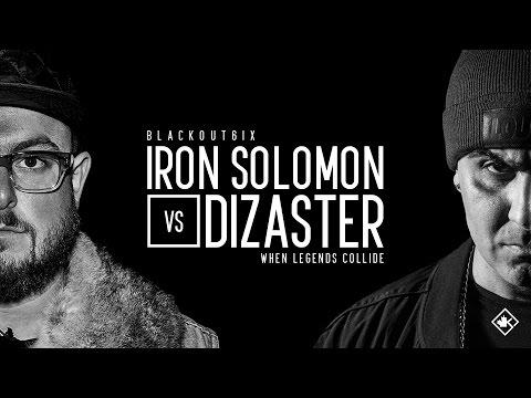 KOTD - Rap Battle - Iron Solomon vs Dizaster   #BO6ix