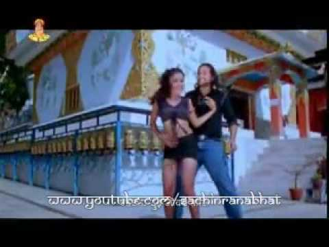 Rekha Thapa In Newari Song  Film-chadkan video