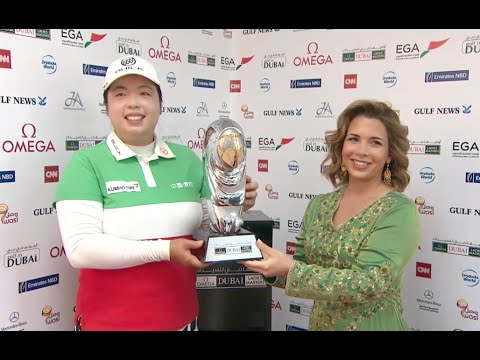 Shanshan Feng wins by 12 shots at Omega Dubai Masters | Ladies European Tour
