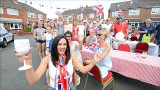 Royal Wedding street party at William Green Road in Wednesbury