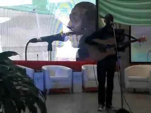 Edaniels Performing at the Peace Movement Yaradua Center Abuja