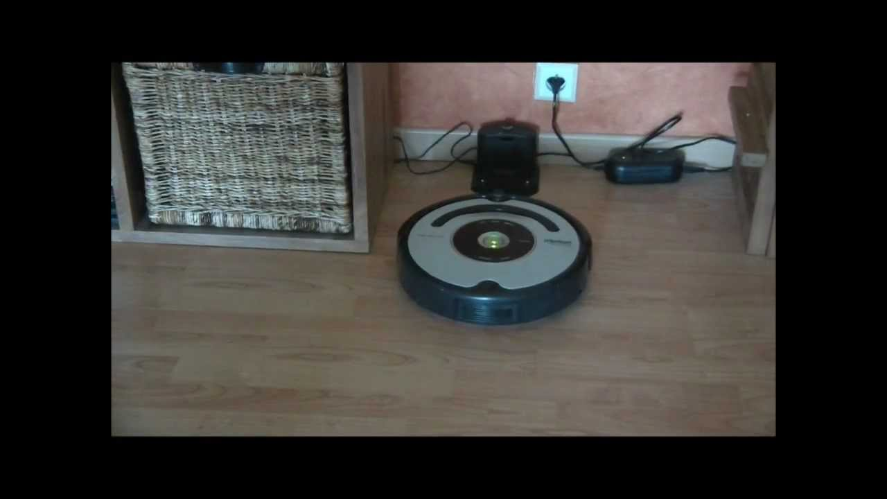 aspirateur robot roomba pet 563 youtube. Black Bedroom Furniture Sets. Home Design Ideas