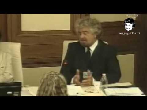 Beppe Grillo alla Commissione Affari Costituzionali, Senato