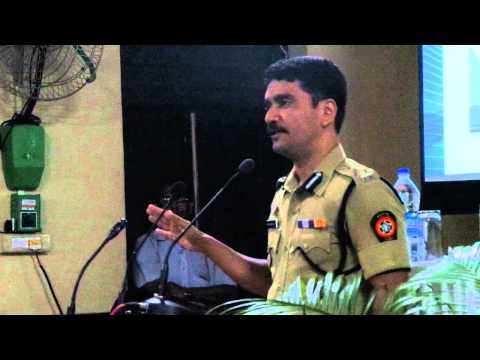 Vishwas Nangre Patil, Additional Commissioner Of Police At Cctv Event Initiated By Baba Siddique. video