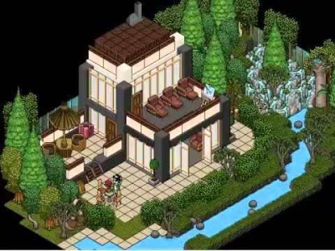 Las mejores salas de habbo 2012 xpixeles youtube for Casa moderna en habbo fantasy