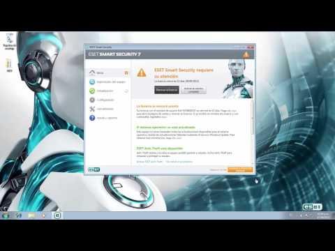 Actualizar ESET Smart Security de version 5.x. 6.x. 7.x a versión 8.x desde la misma aplicación