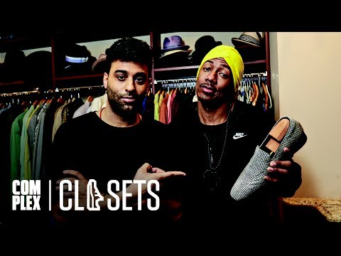 Nick Cannon Shows Off The Most Expensive Shoes In The World on Complex Closets